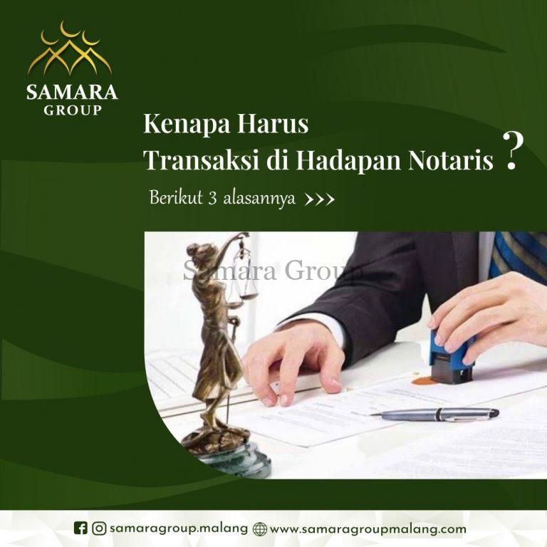 Kenapa Harus Transaksi di Hadapan Notaris Berikut Alasannya (3)