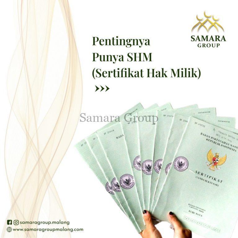Pentingnya Punya SHM (Sertifikat Hak Milik) (3)