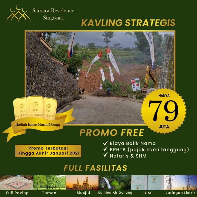 Promo Awal Tahun 2021, Samara Residence Singosari