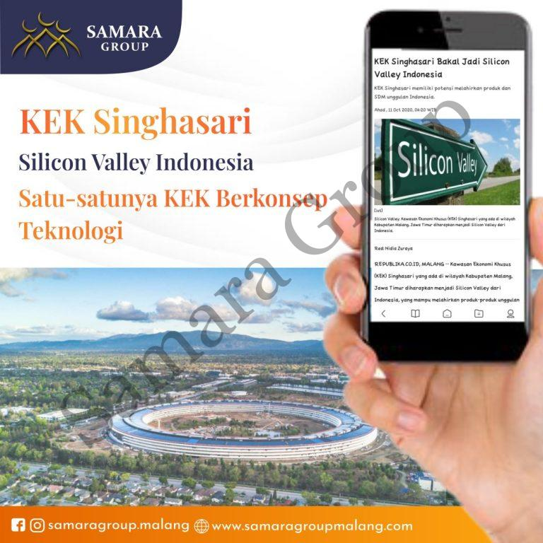 KEK Singhasari Silicon Valley Indonesia Satu-satunya KEK Berkonsep Teknologi