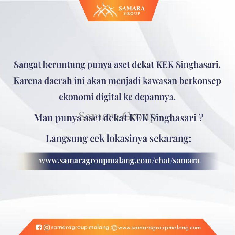 KEK Singhasari Pusat Inkubasi Ekonomi Digital