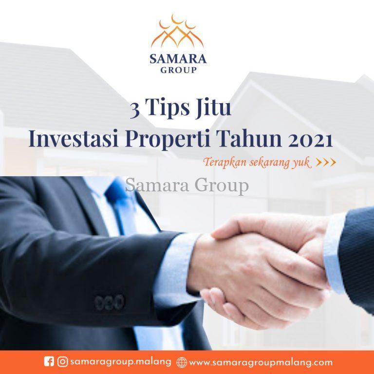 3 tips jitu investasi properti di tahun 2021