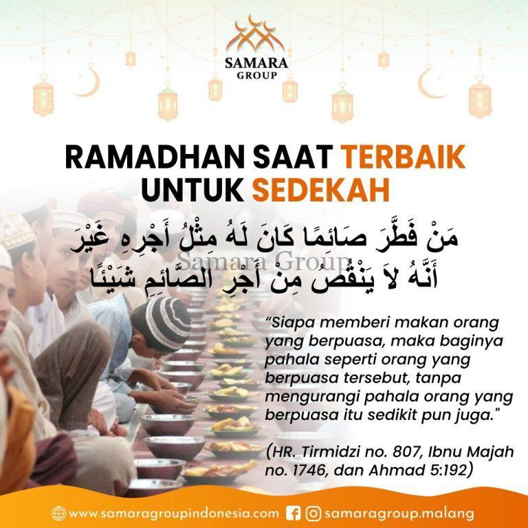samara-group-post-ramadhan-saat-terbaik-bersedekah