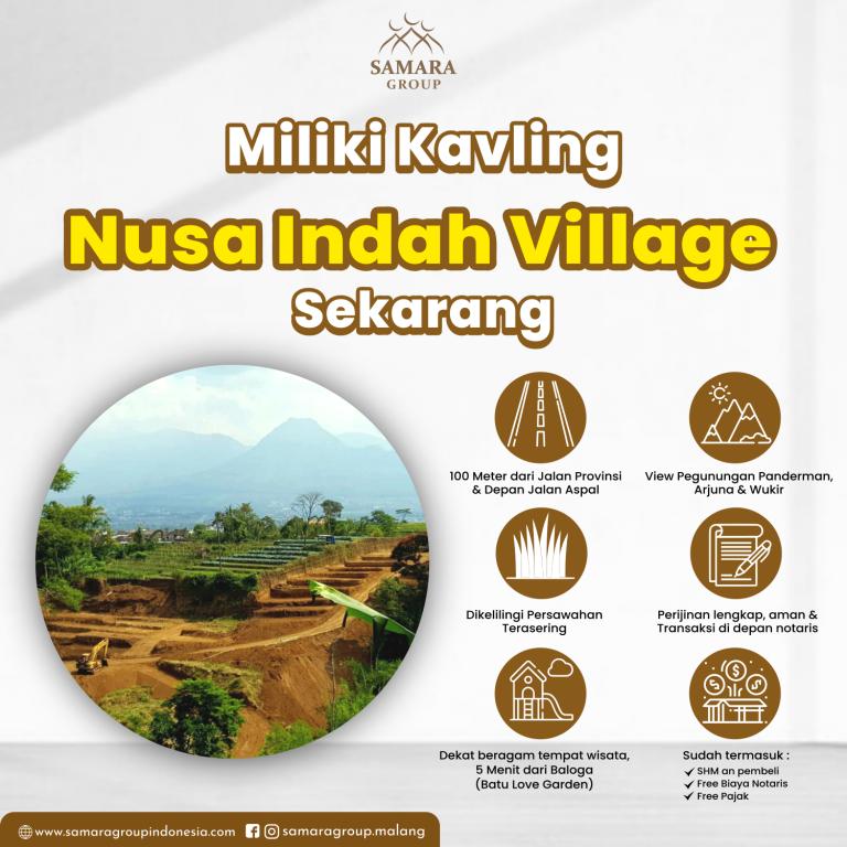 Miliki Kavling Nusa Indah Village Sekarang!