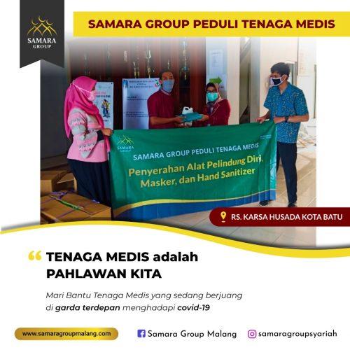Samara Group Malang Peduli Covid-19