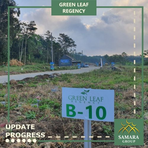 Progress pembangunan green leaf