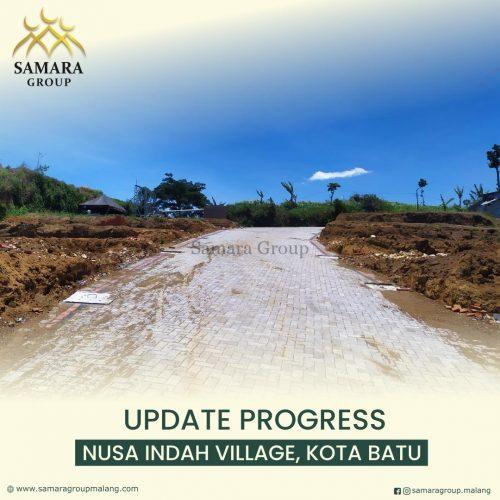 Progress pembangunan green leaf